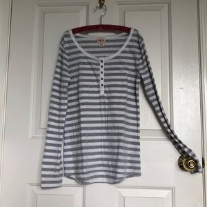 Basic striped long sleeve